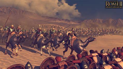 total war rome  receives  desert kingdoms culture