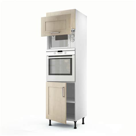 colonne cuisine leroy merlin meuble de cuisine colonne blanc 3 portes ines h 200 x l 60 x p 56 cm leroy merlin