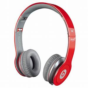 Beats by Dre Monster Solo HD headphones red