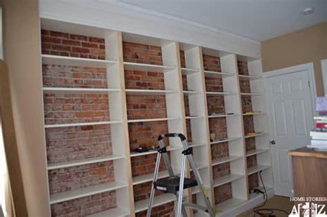 Ikea Hack Billy Builtin Bookshelves (part 1