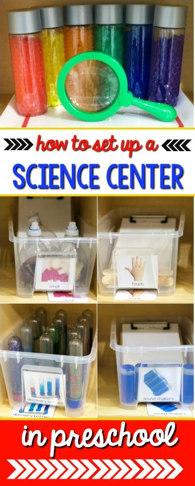 science center set up and ideas for preschool 954 | Preschool Science Center Set Up