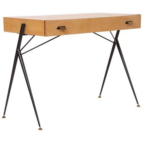 desk 39 inches wide silvio cavatorta beech ladies desk console table mid