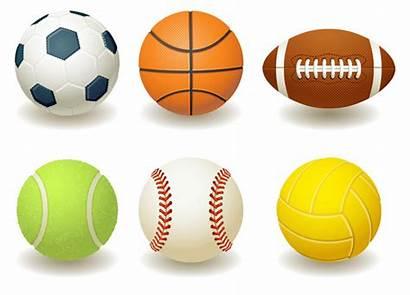 Balls Sports Cartoon Clipart Vector Tagging Cloudinary