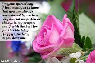 on your special day i just happy birthday greetings
