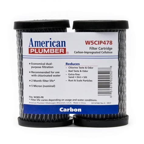 American Plumber W5CIP478 Water Filter