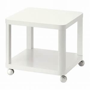 Ikea Table Appoint : tingby table d 39 appoint roulettes blanc ikea ~ Teatrodelosmanantiales.com Idées de Décoration