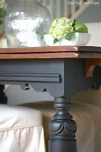 Lamp, Black, And, Java, Drop, Leaf, Table