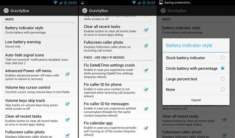 Xposed Gravity Box : Gravitybox Xposed Module Brings Pie Controls And Much More