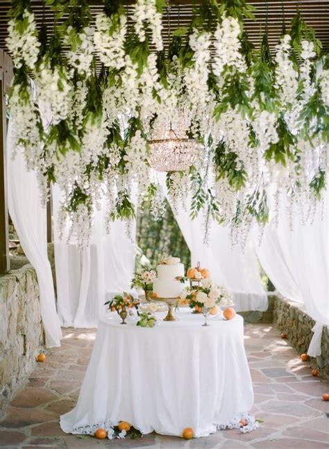 Incredible Hanging Wedding Flowers It Girl Weddings