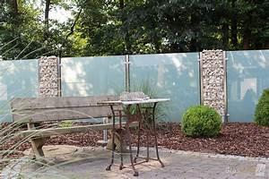 Sichtschutz Im Garten : sichtschutz aus glas f r den garten glasprofi24 ~ A.2002-acura-tl-radio.info Haus und Dekorationen