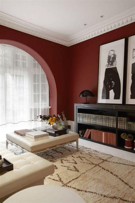 peinture murale dans le salon et id 233 es de d 233 co en 25 photos