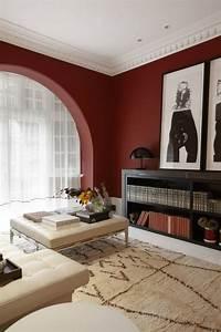 Peinture Murale Couleur : peinture murale dans le salon et id es de d co en 25 photos ~ Melissatoandfro.com Idées de Décoration