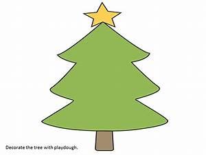 The Teaching Zoo: Christmas Playdough Mats Freebie!!