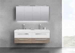Doppelwaschbecken Mit Unterschrank Und Spiegelschrank : produktinformationen badm bel set doppelwaschbecken 160 ~ Watch28wear.com Haus und Dekorationen