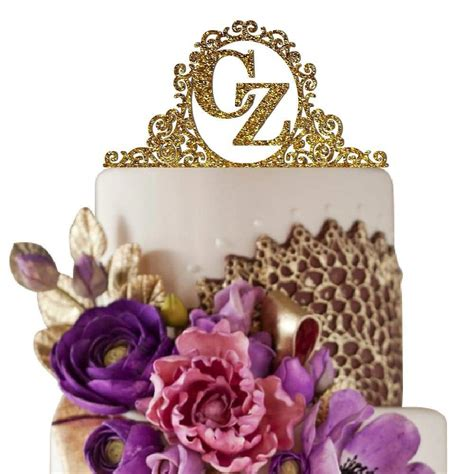 top 10 best monogram cake toppers heavy com