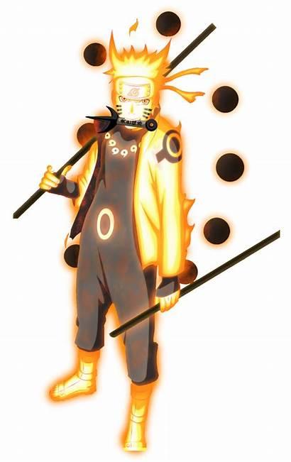 Naruto Goku Saga Saiyan Paths Six Composite