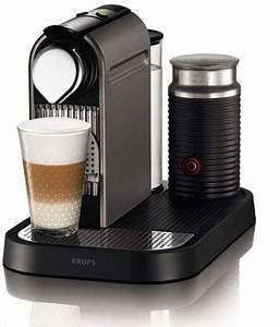 Kaffeemaschine Mit Milchaufschäumer : krups xn 7101 nespresso citiz milk titan kaffeepadmaschinen test 2017 ~ Eleganceandgraceweddings.com Haus und Dekorationen