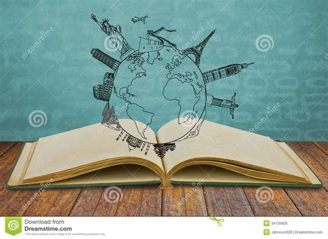 Book Of Travel Royalty Free Stock Photo Image: 34705825