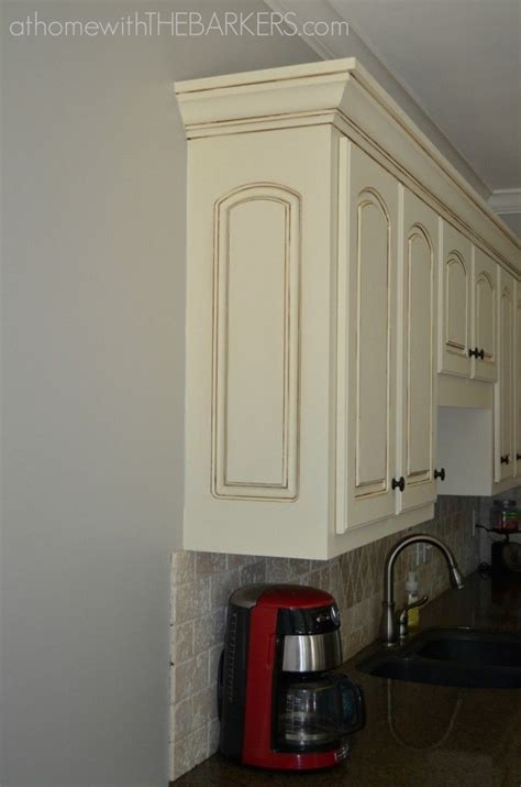 kitchen makeover part   paint glazed kitchen
