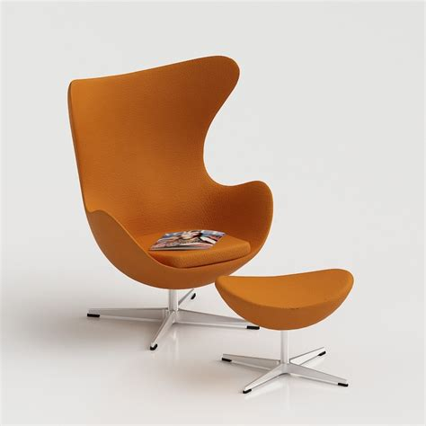 egg chair  arne jacobsen  furniture  models