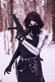 Female Winter Soldier Cosplay