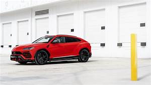 Red Lamborghini Urus 2019 4K 8K Wallpaper HD Car