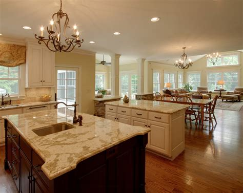 open concept kitchen and living room designs decor