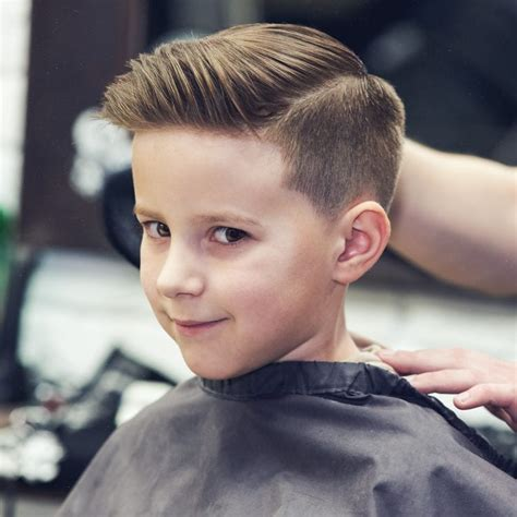 Boy Hairstyles by How To Cut Boys Hair Layering Blending Guides