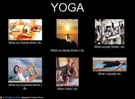 Yoga Humor   Put a smile on my face   Pinterest   Laughing, Yoga humor and Funny