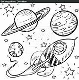 Rocket Coloring Ship Pages Drawing Printable Rocketship Space Colouring Print Drawings Draw Getdrawings Planet Getcolorings Easy Planets Emale sketch template