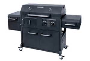 Brinkmann Gas Charcoal Smoker and Grill