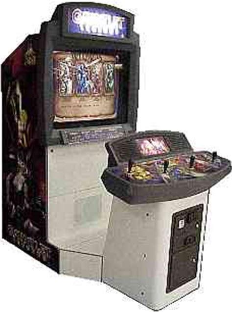 Gauntlet Legends Arcade Cabinet by Gauntlet Legends Videogame By Atari