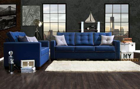 two sofa living room blue sofa set smalltowndjs com