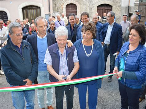 Cgil Sede Nazionale by Rietinvideo Inaugurata La Nuova Sede Cgil Ad Antrodoco
