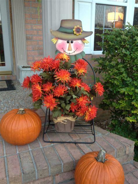 fall scarecrow  walmart delightful decorating