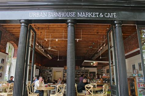 urban farmhouse market cafe architecture richmond