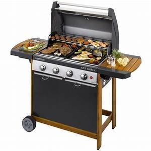 Barbecue Gaz Avec Plancha Et Grill : object moved ~ Melissatoandfro.com Idées de Décoration