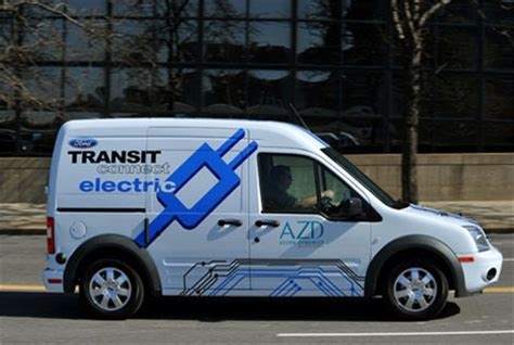 Uk Company Launches Ford Transit Connect E-van Repair