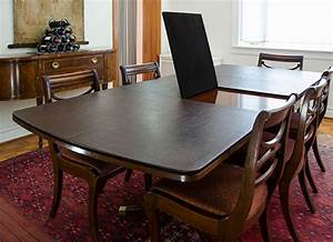 Custom table pads for dining room tables decorating ideas for Dining room table protectors