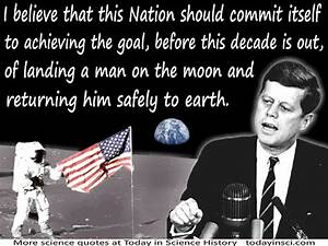 photos of john f. kennedy and famous quotes moon - Bing ...