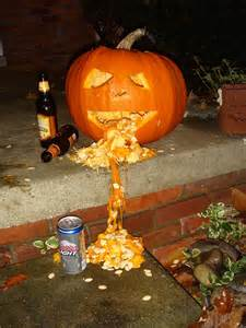 Puking Pumpkin Carving by Drunk Pumpkins A Gallery On Flickr