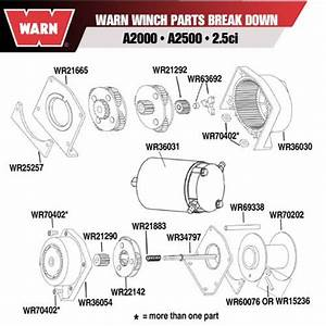Warn Winch Endhousing Clutch Assembly