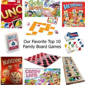 our favorite top 10 family board as leels