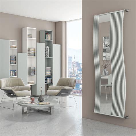 runtal radiatori radiateur design avec insert miroir doppialinea mirrorstyle