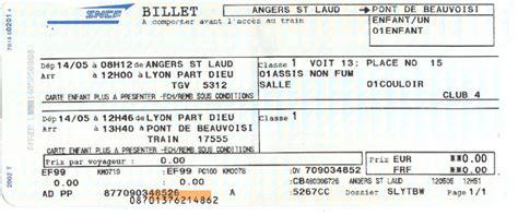 Changement Billet Sncf by Petit Soucis Pour Un Trajet De Yahoo Questions