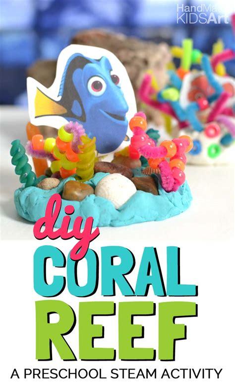 diy coral reef kids steam lab