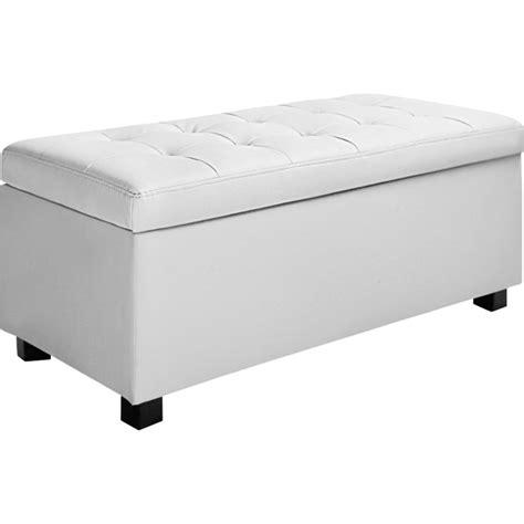 large storage ottoman bench large storage ottoman bench white pu leather 102cm buy
