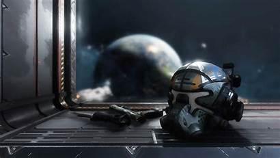 Titanfall Ea Helmet Respawn Entertainment Background Solider
