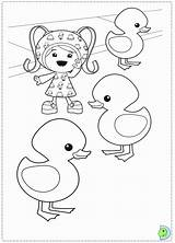 Umizoomi Coloring Team Pages Umi Zoomi Dinokids Popular Close Colorir sketch template