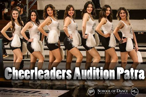cheerleaders auditions  school  dance patras